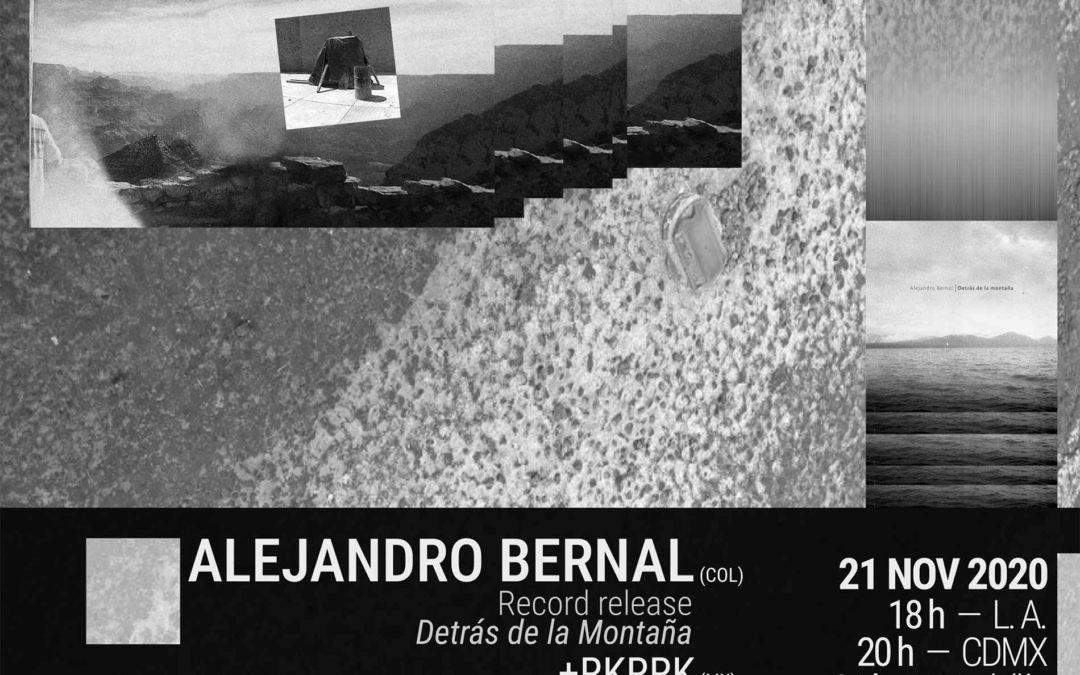 Alejandro Bernal Record Release+ Special Guests @ Coaxial Arts