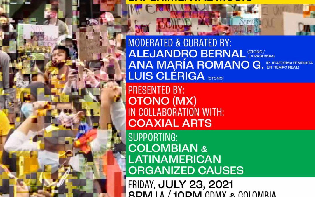 Otono & Coaxial Presents: Dialogues between Colombia & Mexico through sound art & experimental music
